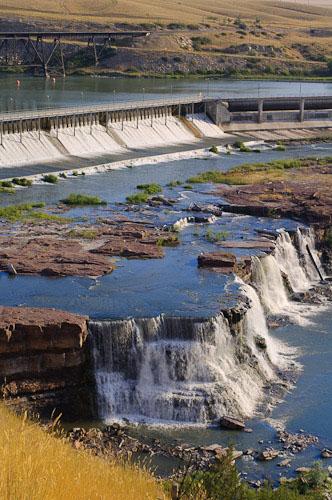 Beneath Rainbow Dam