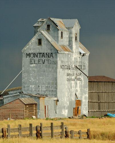 Grain Elevator Montana