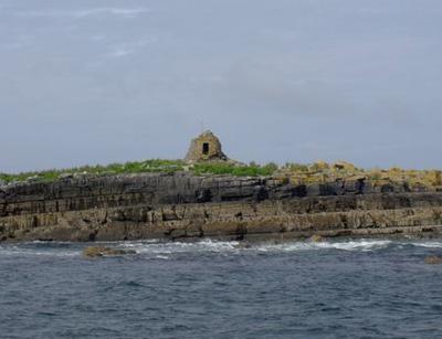 The coast of the Aran Islands