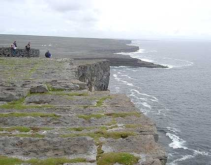 View from Dun Aenghus