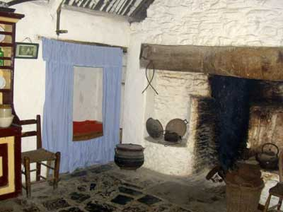 A cottage at the Bunratty Folk Park