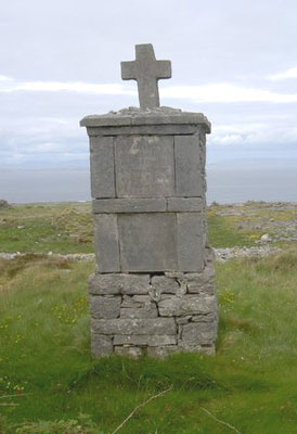A grave on the Aran Islands