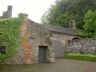 A barn at Bunratty Folk Park