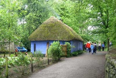 A cottage in Bunratty Folk Park