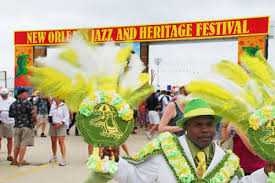 The New Orleans Jazz Fest. Photos by Dominic Degrazier