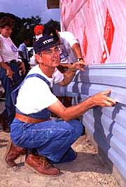 Since 1976, Habitat for Humanity, a nonprofit, nondenominational Christian housing organization, has built more than 175,000 houses, providing shelter for nearly 900,000 people worldwide.