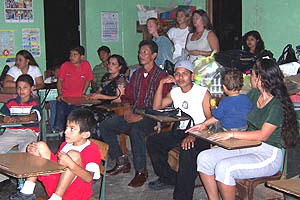 A classroom in Belize