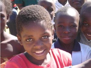 Children in Shalati