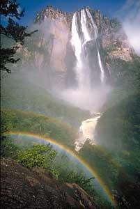 Angel Falls in Venezuela - photo courtesy of beanznrice.org