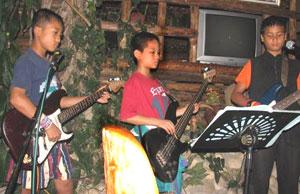 'The School of Rock' at Baan Dada - photos by Ryan McDonald