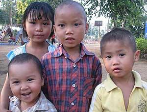 Children at Baan Dada