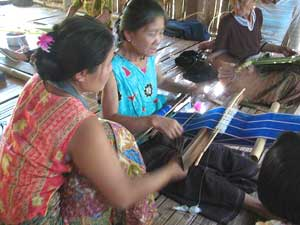 The weaving project