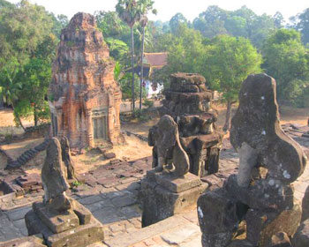 Part of the Angkor Wat temple complex