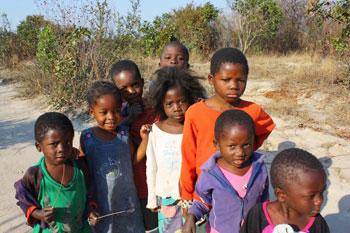 Village children