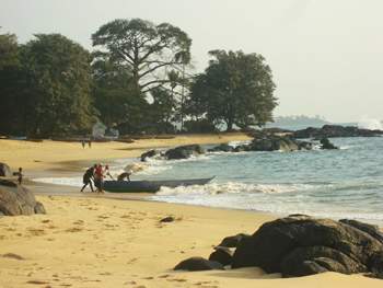 Scenic John Obey Beach.
