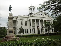 The courthouse at Vicksburg, MS where there is a Civil War Museum. Sam Hartshorne photo.