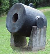This 13-inch mortar was probably used by the Union in the fight for Vicksburg, mounted on boats. It fired 200 pound explosive bombs. photo courtesy of the park.