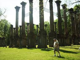 The ruins of the Windsor Mansion, Port Gibson, Mississippi. photo by Sam Hartshorne.