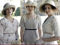 The young ladies of Downton Abbey.