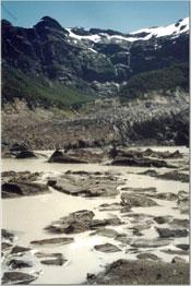 The Black Glacier. photos by Amanda Schoenberg.