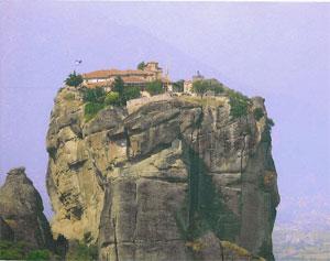 Monastery Megalo Meteoro.