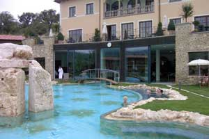 The pool at Adler Thermae