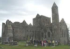 Guest visit the Rock of Cashel.