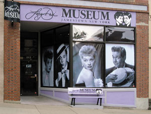 The front of the Lucy-Desi Museum