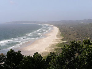 One of the beaches on Byron Bay - photos by Kent E. St. John