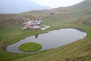 Prashar Lake - photos by Mridula Dwivedi