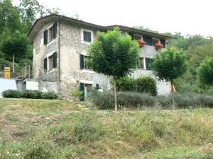 The main house at Localita Grifoglia.