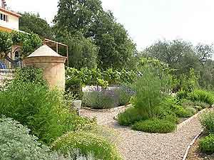The gardens at Opio