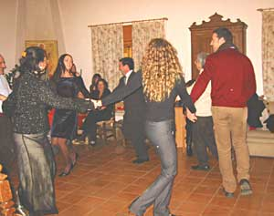 Dancing the Tarantella