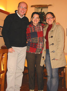 With Concetta, our friendly host