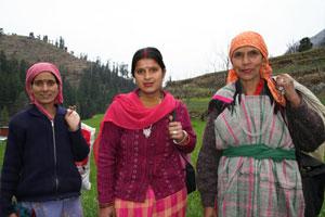 Village ladies