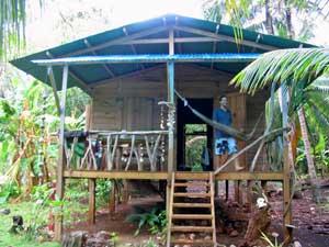 Jungle cabin, Ensuenos Resort - photo by Karina Zobolotny