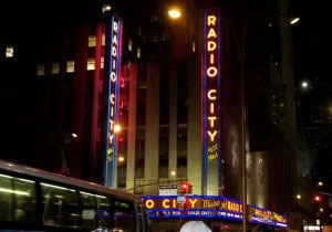 Radio City Music Hall is about a 15 minute walk from The Pod