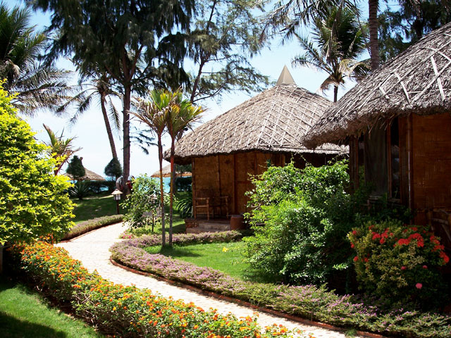 The Bamboo Village Resort in Mui Ne, Vietnam