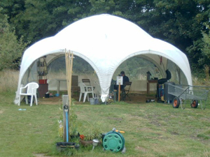 The community yurt.