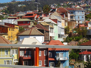 Valparaíso -- it's quaint, it's steep.
