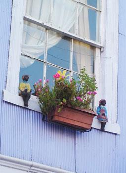 Window in Valparaiso