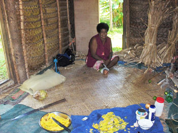 Marciana, one of the elder women in the village, had the sweetest laugh and could cook a meal like nobody's business.