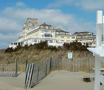 The magnificent Ocean House Hotel, overlooking Watch Hill, Rhode Island. photos by Shelley Rotner.