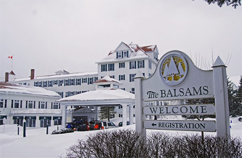The Balsams Grand Hotel and Resort, in Dixville Notch, NH. photos by Pinaki Chakraborty