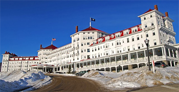 The Omni Mount Washington Hotel, located south of the Balsams, is another grand and glorious place to spend the night in Northern New Hampshire.
