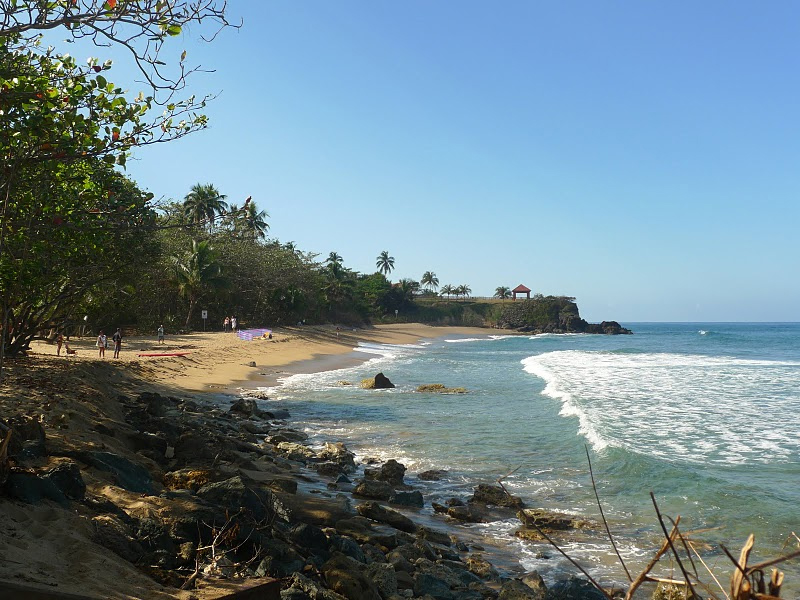 Dogman Beach, Rincon, Puerto Rico. photo by Kent St. John