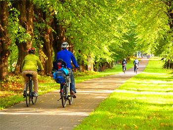 Bike Path near the castles.