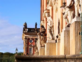 The new castle in Potsdam.