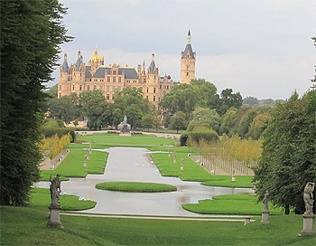 Schwerin Castle, in Northern Germany. photo by Kent E. St. John.