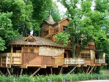 Alnwick Treehouse Restaurant.